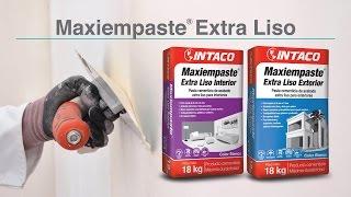 Empastar una pared con Maxiempaste Extra Liso...