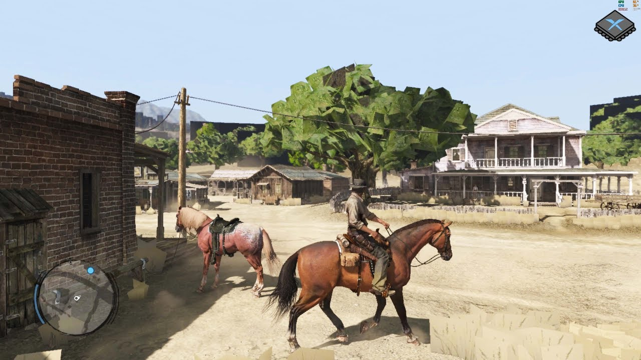 Red Dead Redemption now runs on the latest version of the Xbox 360 emulator, Xenia