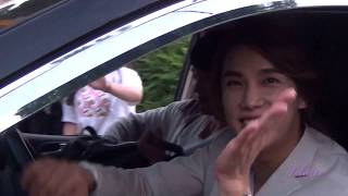 SS501, [Fancam] 170526 Пак Чон Мин 출퇴근길 @Charity концерт