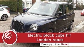Electric black cabs hit London roads