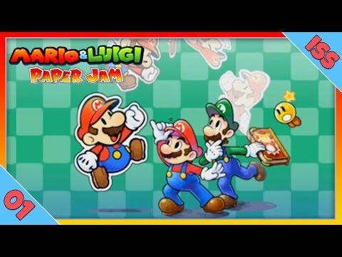 Видео № 1 из игры Mario & Luigi: Paper Jam Bros. (Б/У) [3DS]