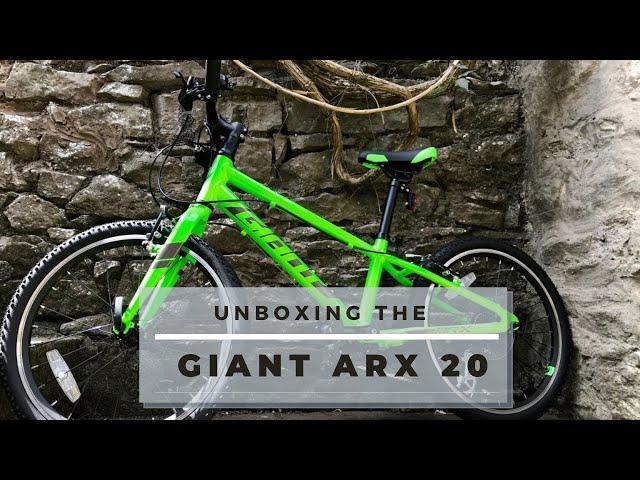 Видео Велосипед Giant ARX 20 Orange
