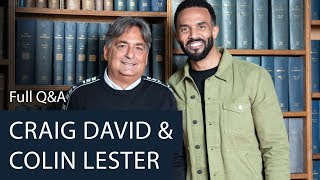 Craig David And Colin Lester | Full Q&A | Oxford Union