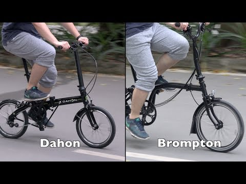 Brompton vs Dahon Folding Bike – A New Comparison