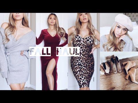 Fashion Nova Fall Haul 2018 🍂 | HAUSOFCOLOR