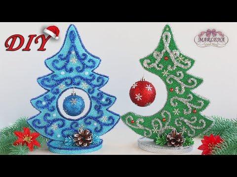 🎄 НОВОГОДНЯЯ ЁЛОЧКА из ФОАМИРАНА 🎄 Christmas_tree DIY