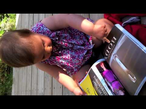Watch A Baby Treat A Magazine Like An iPad — The Crazy Future