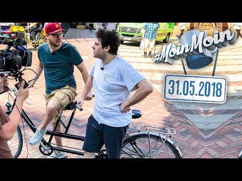 Mit dem Tandem zur Diesel-Demo | MoinMoin mit Etienne und Florentin