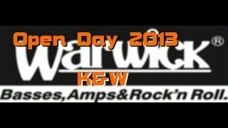 preview picture of video 'Warwick open Day 2013 K&W Productions'