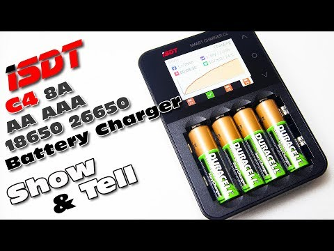 My review of the SMART ISDT C4 battery charger :)