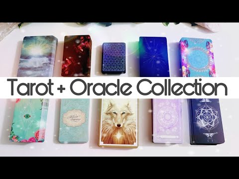 (Updated) Tarot + Oracle Card Collection 🔮✨