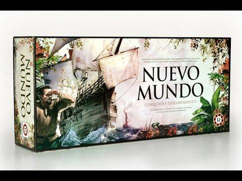 Nuevo Mundo (Ruibal) Reseña de Eurojuegos Buenos Aires