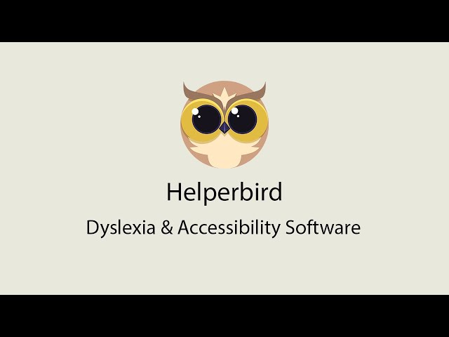 Helperbird support feature