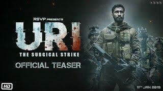 URI | Official Teaser | Vicky Kaushal | Yami Gautam | Aditya Dhar | 11th Jan 2019