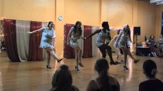 "Gypsy Jitterbugs perform to ""Lady is a Vamp"" - 505 Stomp 2015"