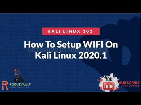 How To Configure / Troubleshoot WIFI Adapter In Kali Linux 2020.1  | Kali Linux 101