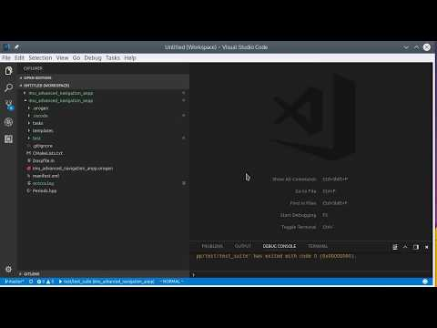 Demo workflow for oroGen packages