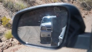Forest Ranger Pulled us Over on the Burr Trail. :(