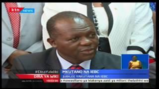 Mwenyekiti wa tume huru ya IEBC-Wafula Chebukati akutana na maafisa wakuu wa chama cha Jubilee