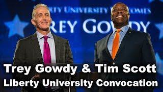 Trey Gowdy & Tim Scott - Liberty University Convocation
