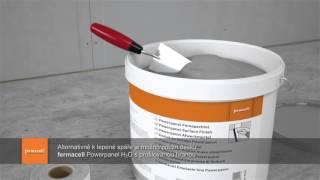 Řešení koupelny s cementovláknitými materiály pro stěny a podlahu