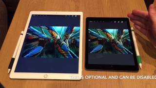 iPad Pro 9.7 vs 12.9 - which is best for an artist?