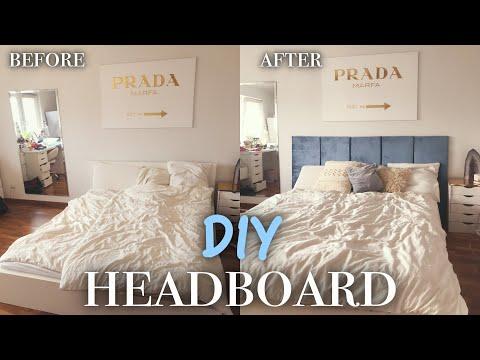 Headboard selbst machen - Bed Transformation ! PaulinaMary