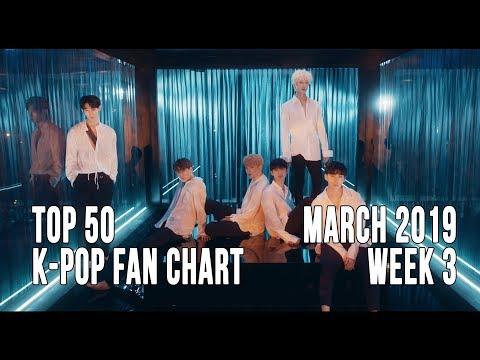 Top 50 K-Pop Songs Chart - March 2019 Week 3 Fan Chart