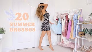 20 SUMMER DRESSES *super Cute*  | Fashion Lookbook 2020