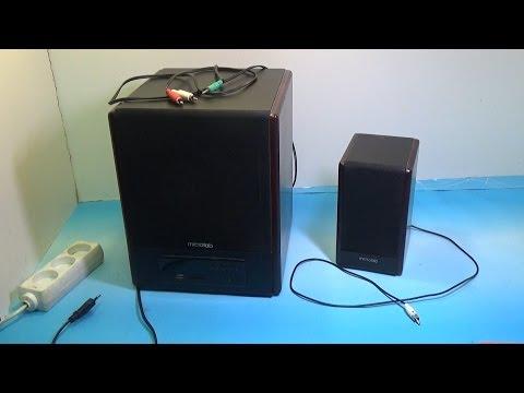 Ремонт акустической  системы Microlab