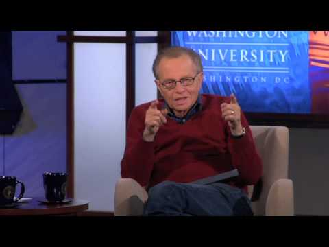 Larry King - Advice For Future Journalists (6 of 7)