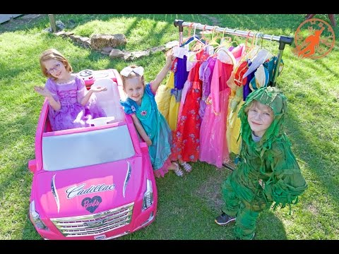 Little Princesses 3 -The Stinker, The Ride On Pink Barbie Car for Girls, and The Picnic