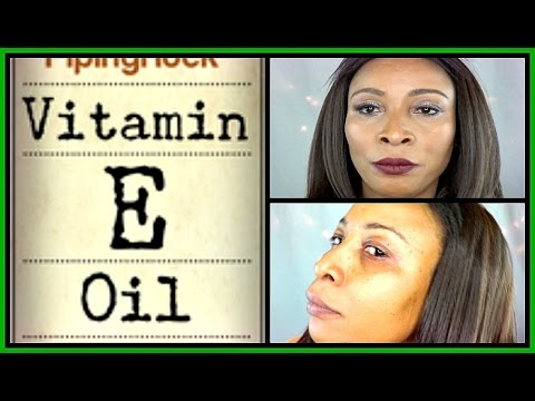 Video THE POWER OF VITAMIN E | HOW TO USE VITAMIN E OIL FOR SKINCARE  Khichi Beauty