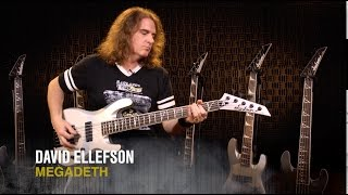 Megadeth's David Ellefson on his USA Signature Concert Bass Models