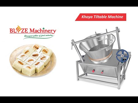 Mawa Making Machine