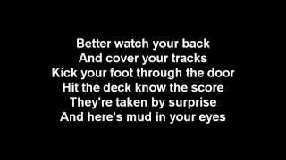 ACDC-War Machine-lyrics