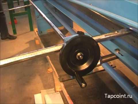 Ручная гильотина по металлу Metalmaster MTG 2508