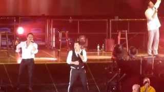 "98 Degrees - ""Impossible Things"" @ Nassau Coliseum 6-1-2013"