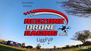 Red Zone Drone Racing (Chase Cam)