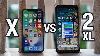 Apple iPhone X vs Google Pixel 2 XL: When software wins!