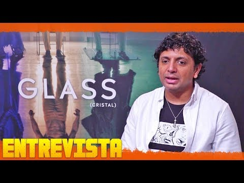 Glass Entrevista (M. Night Shyamalan) Subtitulado