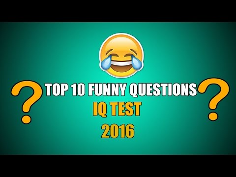 Funny tricky questions with answers