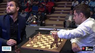 Carlsen's endgame sorcery | Carlsen vs Aronian | Tata Steel Chess India Blitz 2019