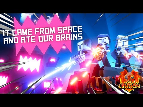 DES LASERS DE PARTOUT !! -It Came From Space and Ate Our Brains- DECOUVERTE avec Bob&Jehal