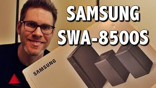 Samsung SWA-8500S Wireless Rear Speakers | Unboxing & Review