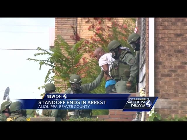 DAYLONG STANDOFF CONTINUES AFTER FATAL SHOOTING IN TRENTON