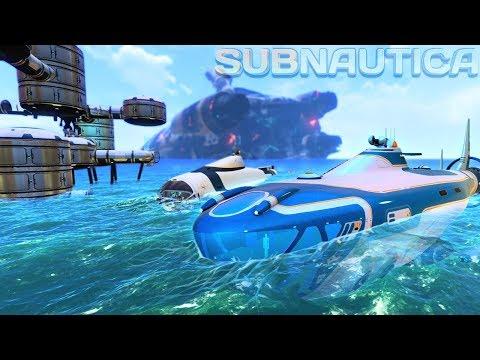 Subnautica - MASSIVE ATLAS SUBMARINE UPDATE, GETTING THE NEPTUNE ROCKET BLUEPRINTS! - Gameplay
