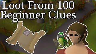 Loot From 100 Medium Clue Caskets (OSRS) - GuidesForUsAll