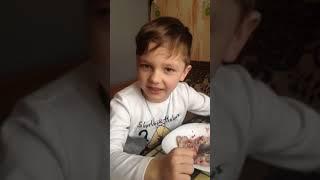 Дети поют!смешное видео!под столом!Поют Касту!каста макарэна в исполнении детей.
