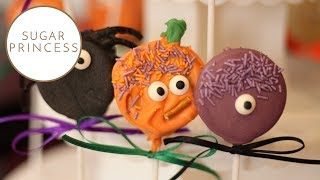 Halloween Oreo Pops   Oreo Cake Pops   Sugarprincess